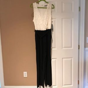 NWT NY Collection Dressy Jumpsuit 2x